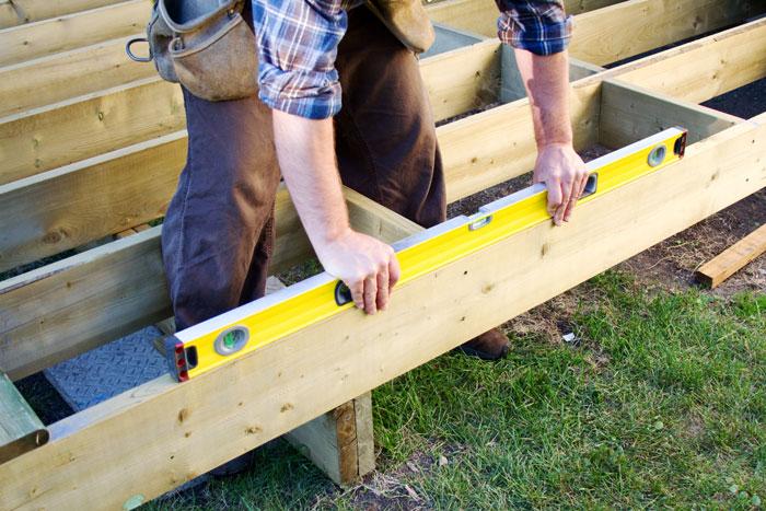 Resurfacing a deck