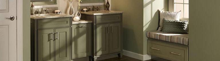 medallion bathroom cabinetry