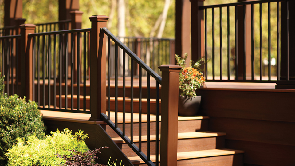 What railing do you want for your deck?