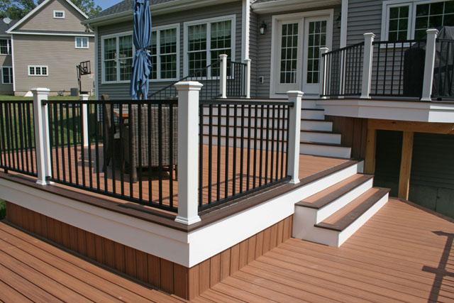 Multi-Level Deck in Windsor, CT