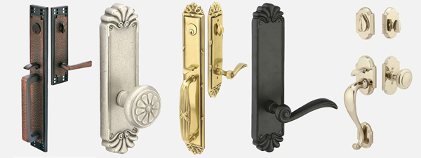 The handle and lockset you choose should match the style of your door