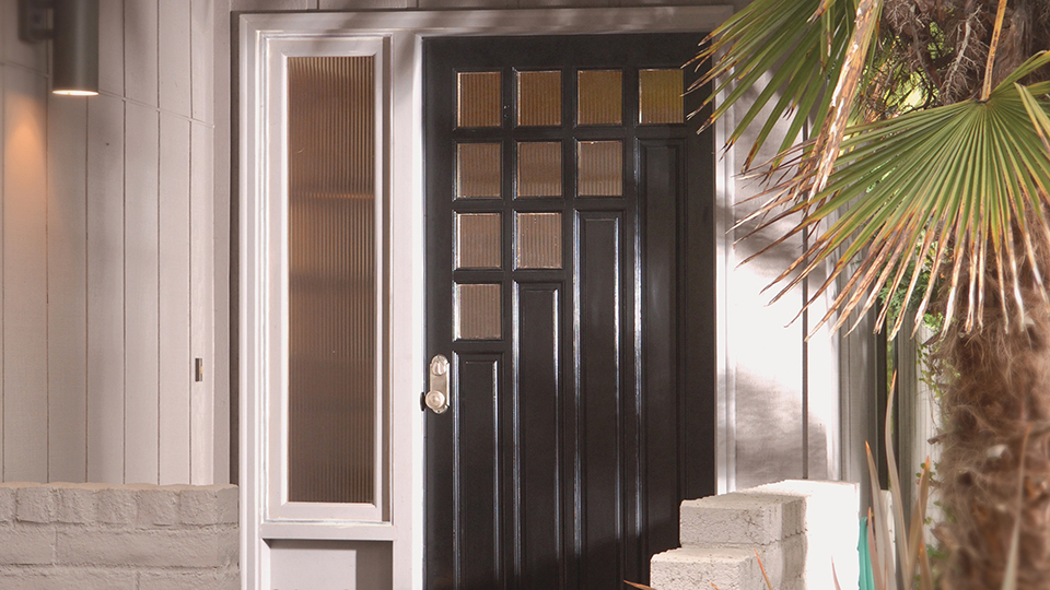 modern style door