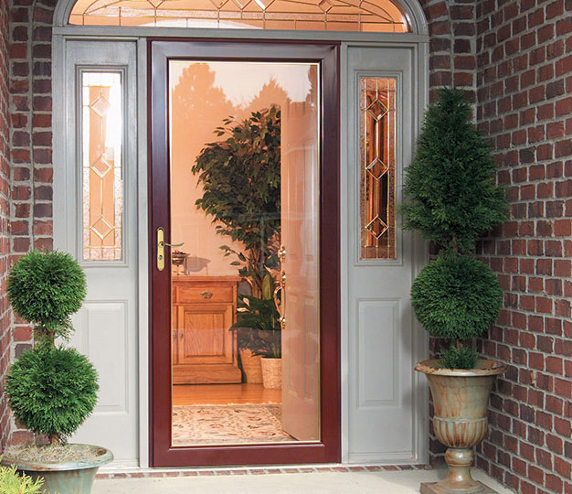 Do you have a storm door?