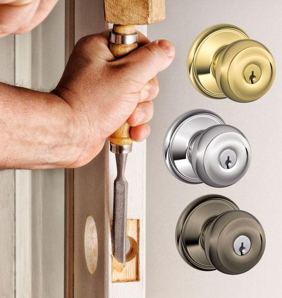 Installing an entry door