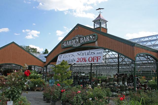 The Garden Barn in Vernon, CT