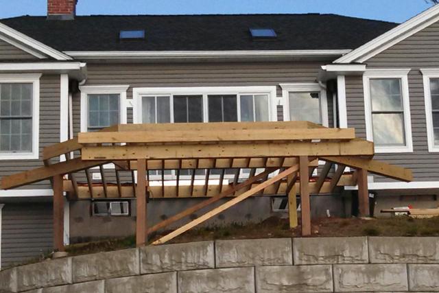 Crane Trex Deck