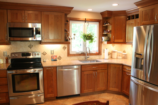 A Medallion Kitchen in Ellington, CT
