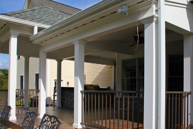 Steven Roy Custom Porch in Suffield, CT