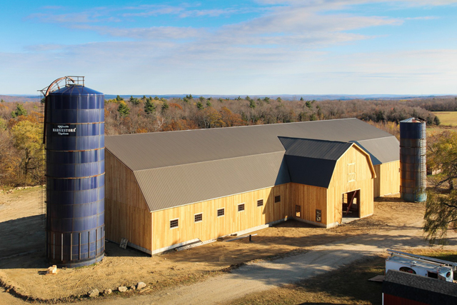 The Barn Yard Builds Biggest Project Yet