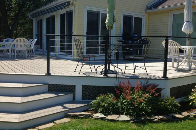 New Deck in East Longmeadow, MA