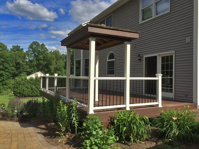 A Trex Deck Resurface in Granby, CT