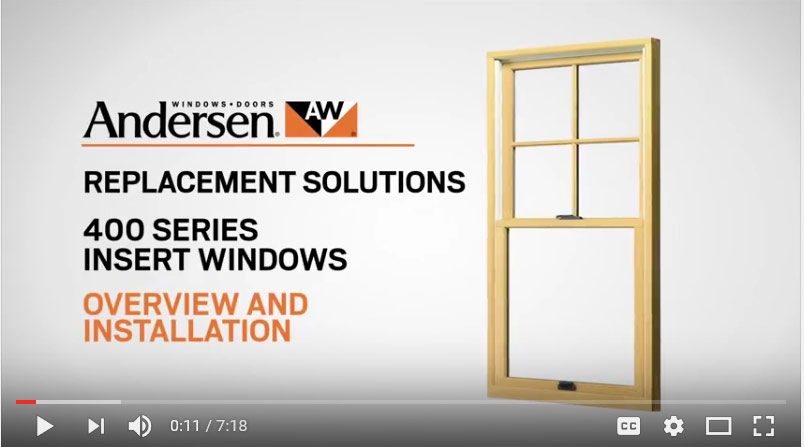 400 Series Window Install