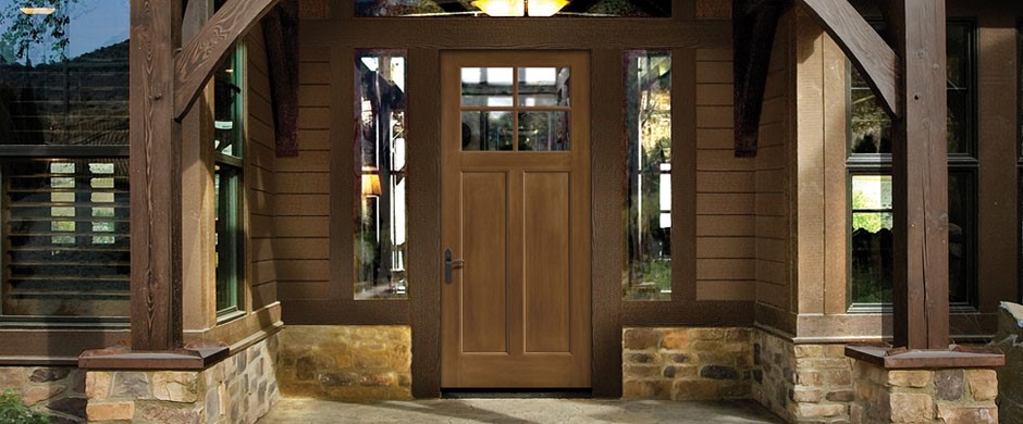 Fiberglass Therma-Tru Entry Doors -Classic Craft