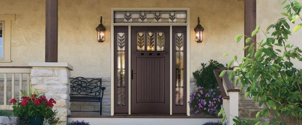 Fiberglass Therma-Tru Entry Doors -Classic Craft Canvas Door