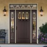 Fiberglass Therma-Tru Entry Doors -Classic Craft Canvas Door