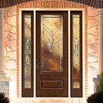 Fiberglass Therma-Tru Entry Doors - Classic-Craft Mahogany