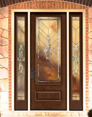 classic craft mahogany door