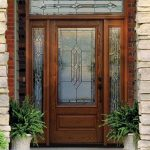 Fiberglass Therma-Tru Entry Doors - Oak
