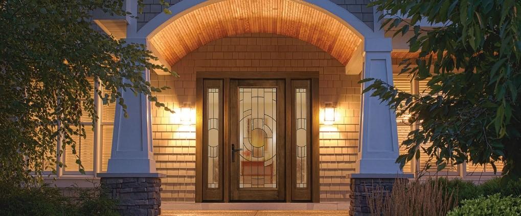 Fiberglass Therma-Tru Entry Doors - Rustic
