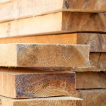 Douglas Fir Dimensional Lumber.