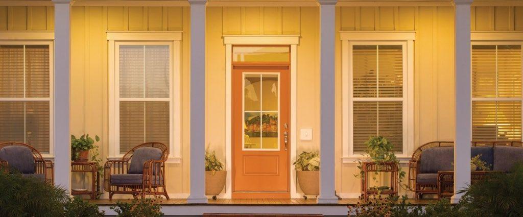 Fiberglass Therma-Tru Entry Doors -Smooth Star Door