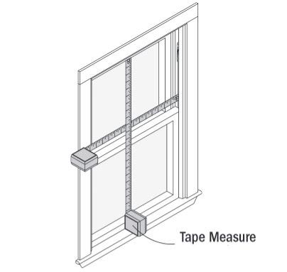 measure window