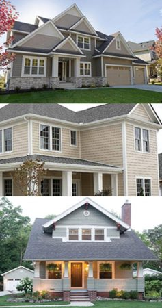 Siding Colors, Neutral