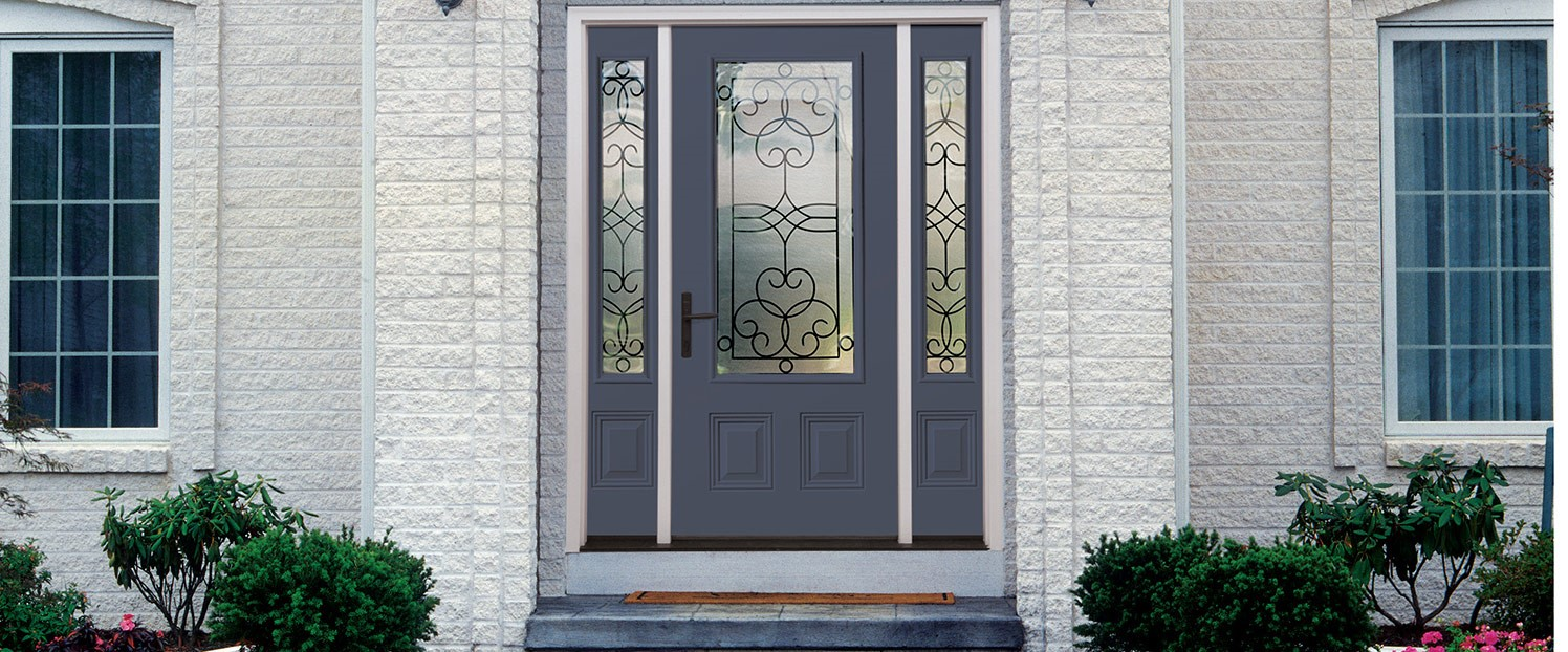 Steel vs fiberglass entry doors what 39 s a better for Exterior steel entry doors