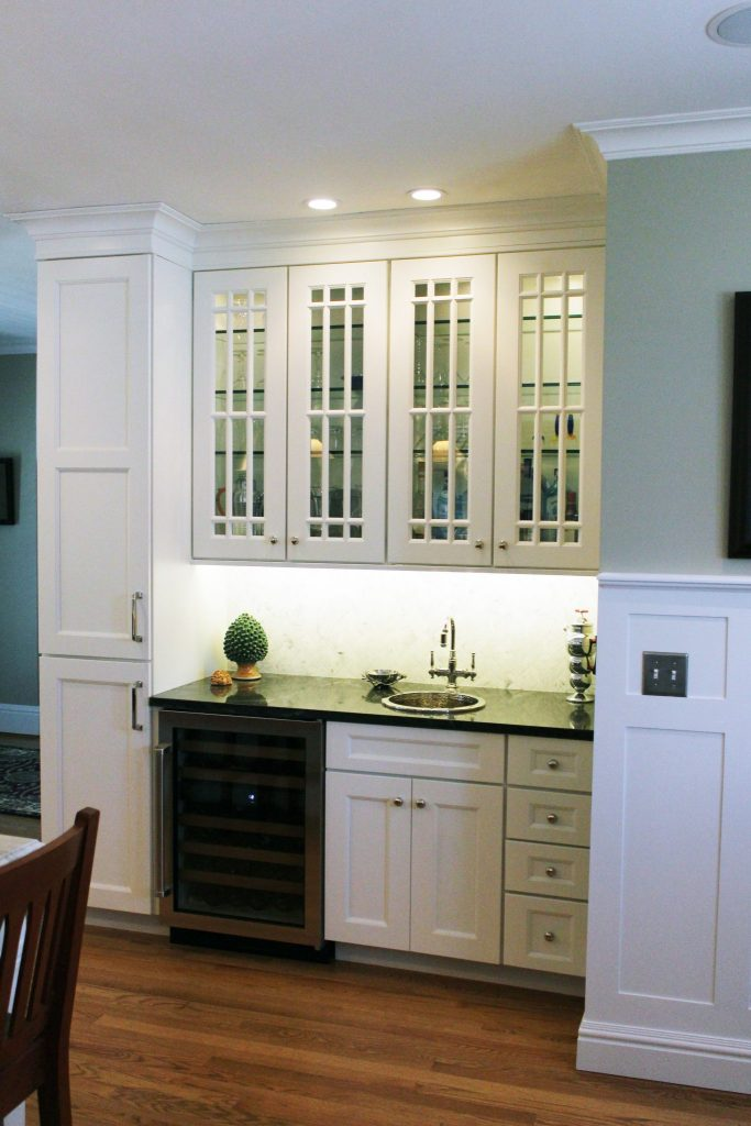 working with a kitchen designer