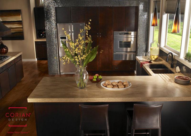 Kitchen Cabinet Layout Ideas - L-Spaed Breakfast Bar