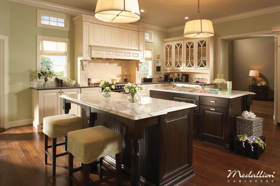 Kitchen Cabinet Layout Ideas - Double Island