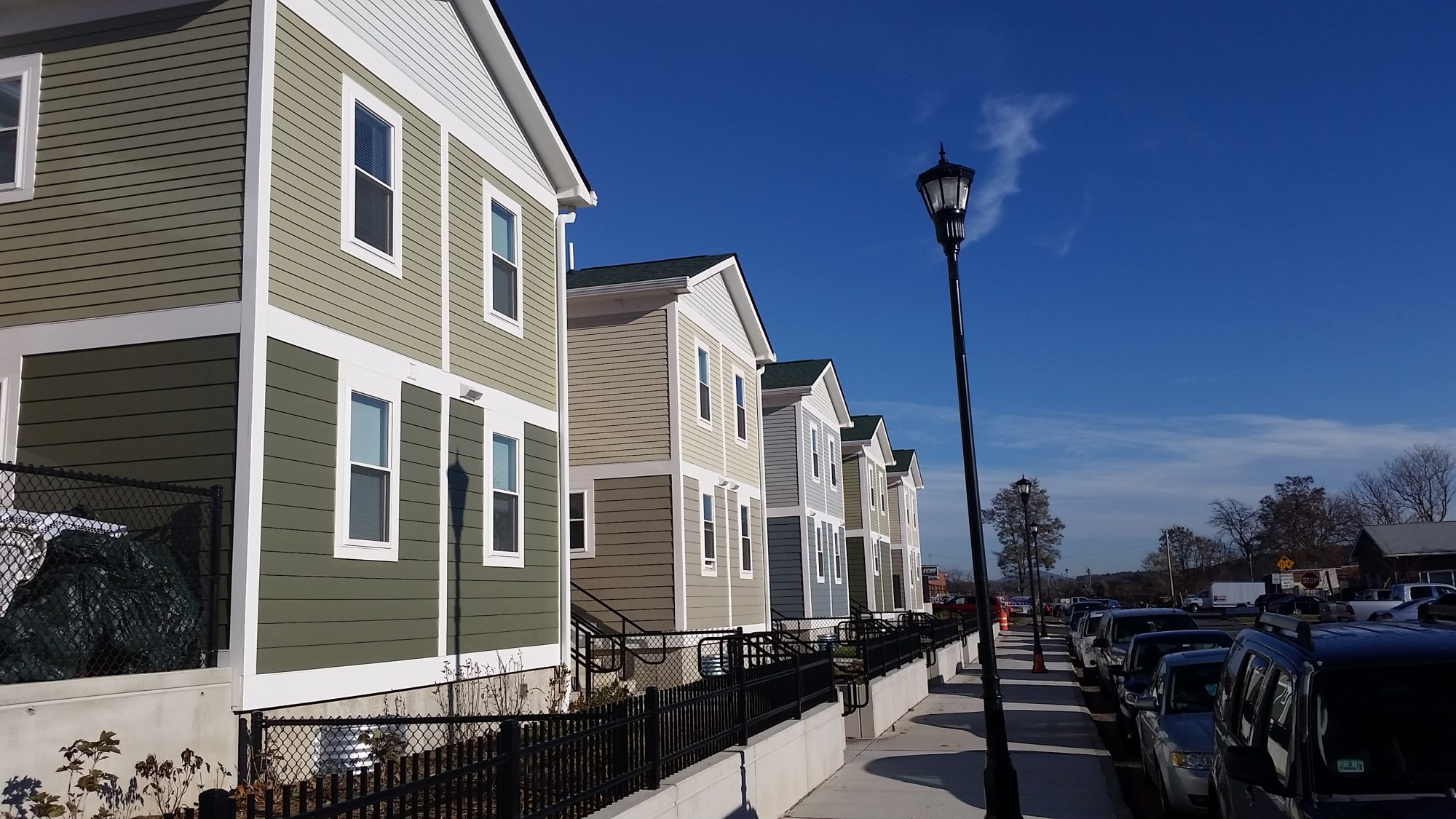 Eastern General Contractors builds the Lyman Terrace housing in Holyoke, MA