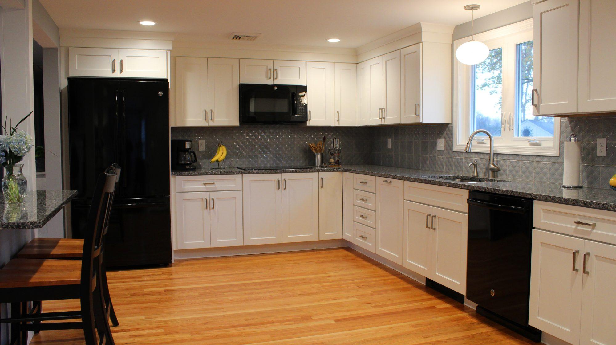 L&S Builders Updates Medallion Kitchen in Enfield, CT