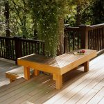 9 cool deck designs L-shaped benches