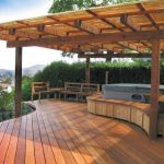 9 cool deck designs hot tub seating