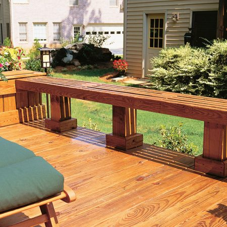 9 cool deck designs low bench seating