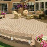 9 cool deck designs perimeter seating 2