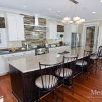 Create a Modern Kitchen with Dark Kitchen Cabinets Bold Constrast 2