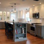 Create a Modern Kitchen with Dark Kitchen Cabinets Dark Bottom Light Top