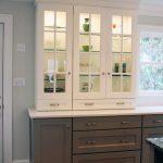 Create a Modern Kitchen with Dark Kitchen Cabinets Dark Bottom Light Top 2