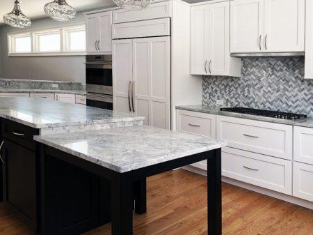 Create a Modern Kitchen with Dark Kitchen Cabinets Mixed materials 2