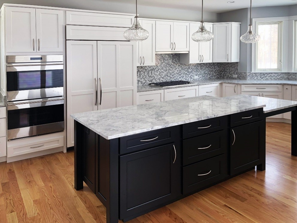 Superb Create A Modern Kitchen With Dark Kitchen Cabinets Beutiful Home Inspiration Cosmmahrainfo