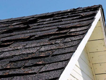 roof damage warning signs