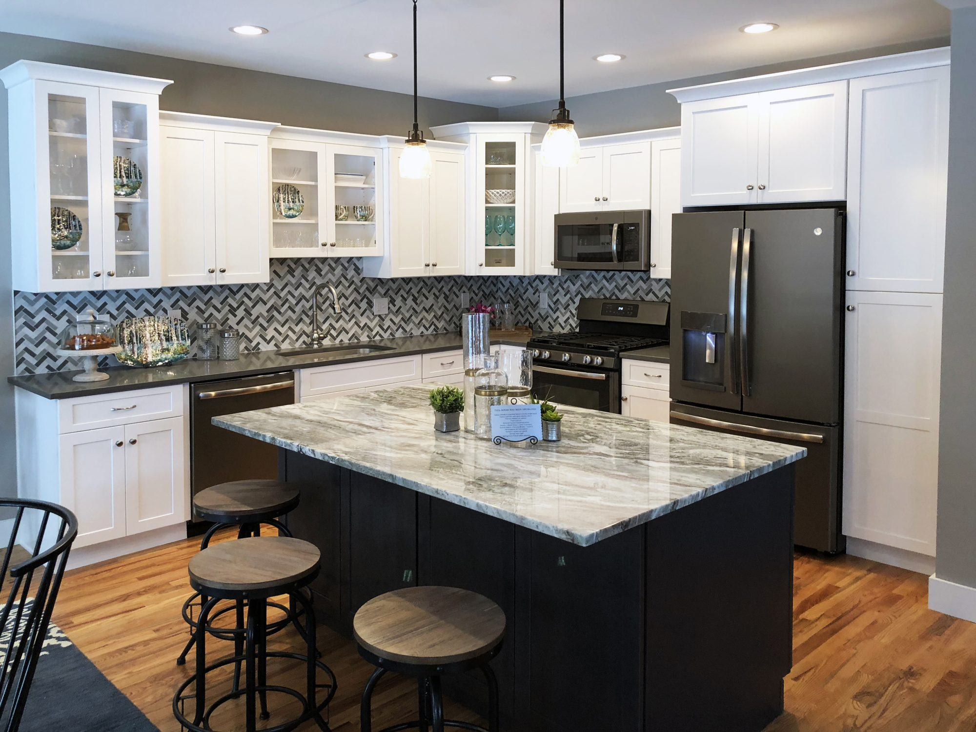 New kitchen at Copperbrook development in Granby, CT