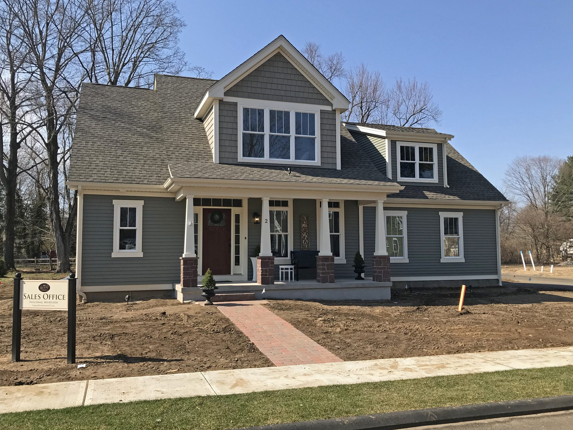 New Model Home at Copperbrook development in Granby, CT