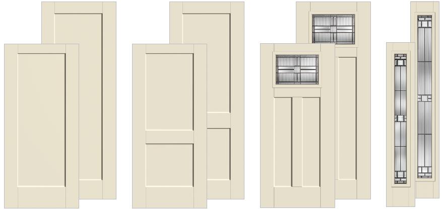 Therma-Tru Shake Solid Doors