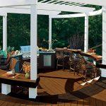 trex-transcend-decking-spiced-rum-vintage-lantern-pergola-white