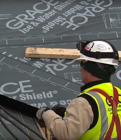Building a Roof? Protect Your Investment with GRACE Underlayment