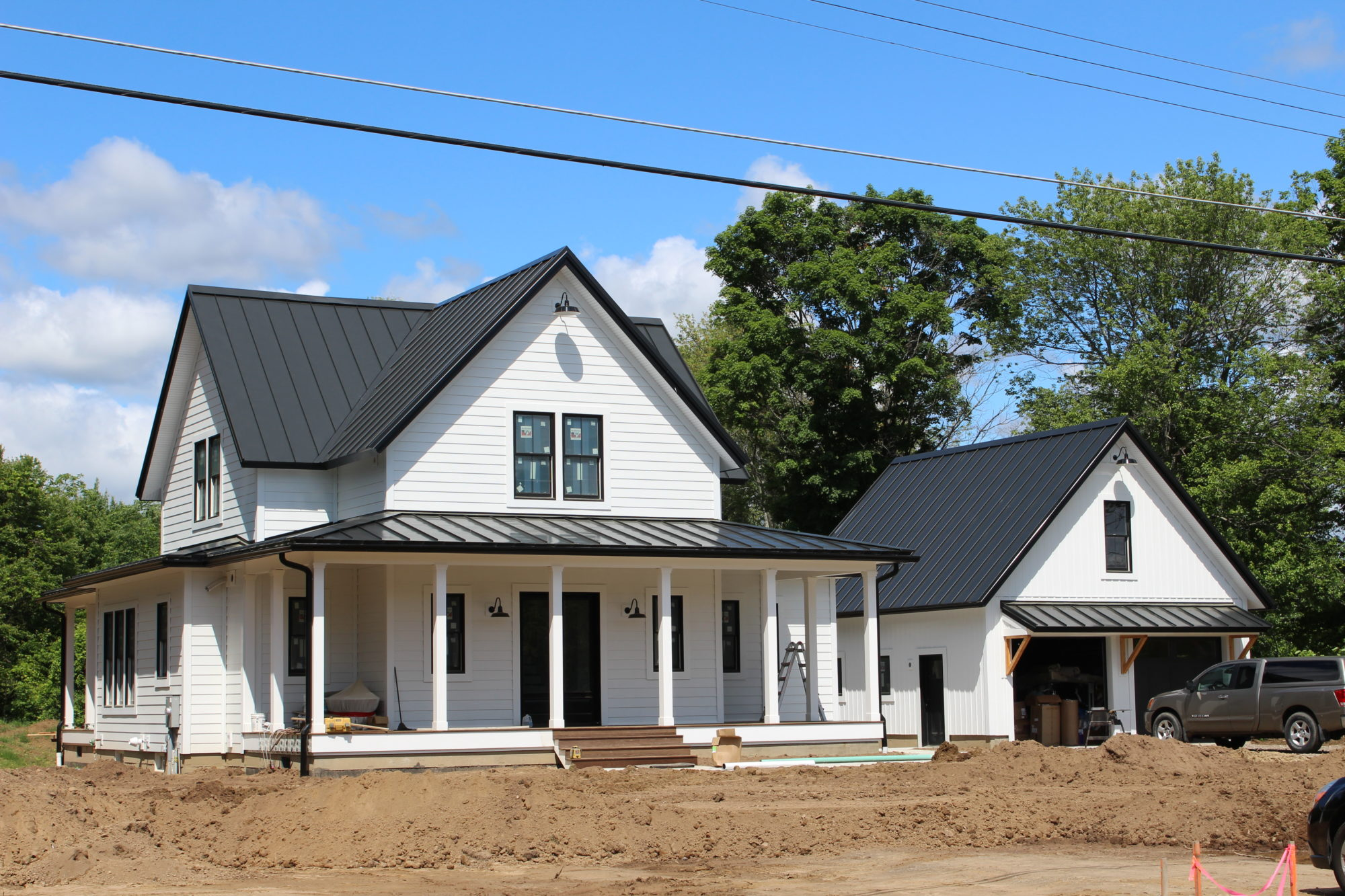 Paradis Remodeling and Building built a new Modern Farmhouse in Suffield, CT