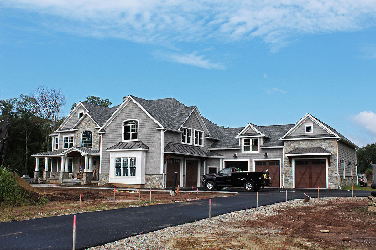 Custom Home Built in Coventry, CT